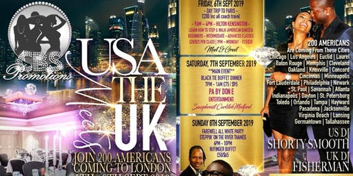 Chrystal Rose Promotions Presents The USA Meets UK