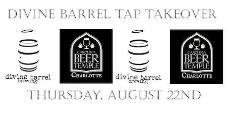 Divine Barrel Tap Takeover tickets