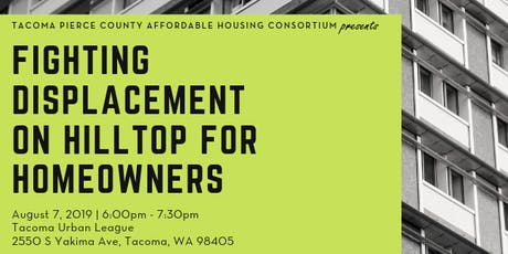 Fighting Displacement on Hilltop for Homeowners tickets