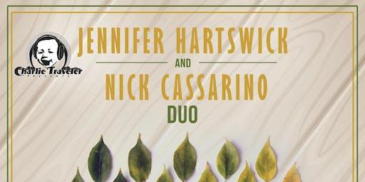 CHARLIE TRAVELER PRESENTS: Jennifer Hartswick (of Trey's band!) & Nick Cassarino Duo-[soul / jazz / r&b]