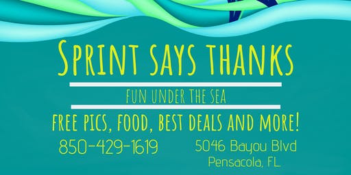 Sprint Says Thanks [Under the Sea]