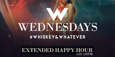 Whiskey Wednesdays | Extended Happy Hour | Luxx Bar & Lounge