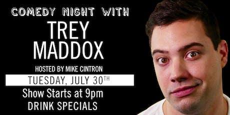 DADA Comedy Night: Trey Maddox tickets