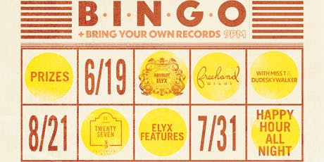 Bingo + BYO Records Night tickets