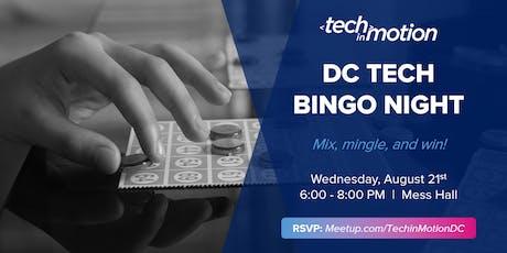 DC Tech in Summer: Bingo Night!  tickets