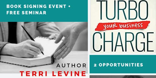 Book Signing + Free Seminar