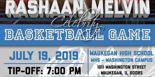 Rashaan Melvin Celebrity Charity Basketball Game