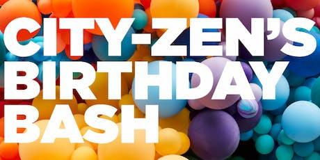 May - June  - July City-zen's Birthday Bash tickets