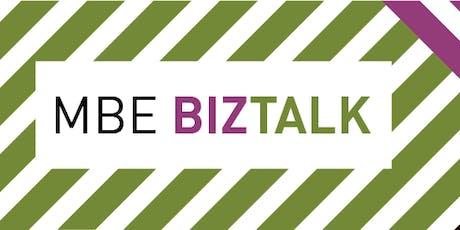 MBE BIZ TALK Webinar tickets