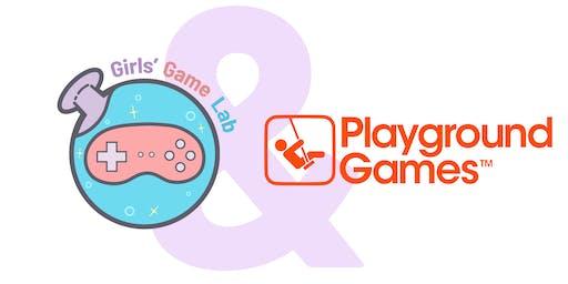 Girls' Game Lab Workshop @ Playground Games, Leamington Spa!