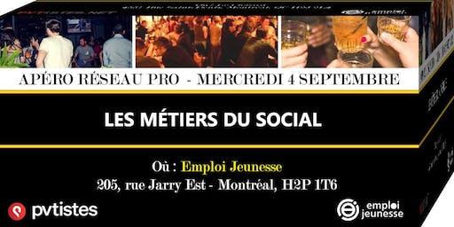 Apéro Réseau Pro - Les métiers du social