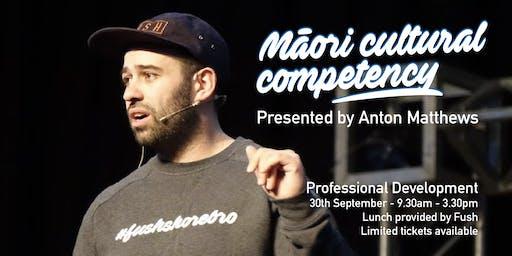 Māori Cultural Competency PD by Anton Matthews