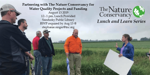 Partnering with The Nature Conservancy for Water Quality Projects and Funding