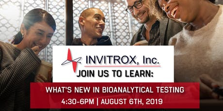 Invitrox - Mass Spec and BREWS - Investigating Natural Products tickets