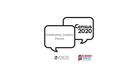 Census 2020 Community Leaders Forum- Morgan tickets