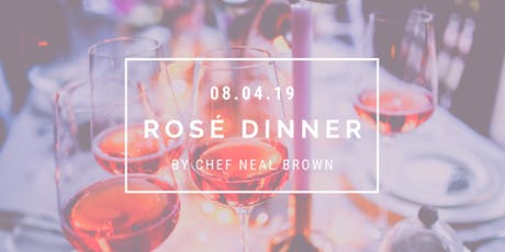 Rosé Dinner in the Courtyard tickets