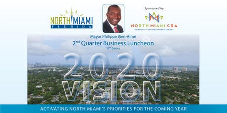 North Miami Mayor's 2nd Quarter Business Luncheon tickets