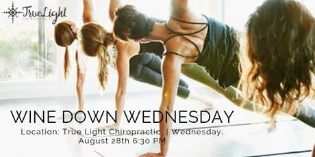 Wine Down Wednesday: Free Community Yoga tickets
