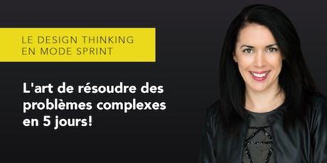 5-7 Le Design Sprint: L'art d'intégrer l'humain à vos projets d'innovation! billets