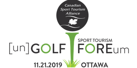 Volunteer at [un] GOLF and the Sport Tourism FORE-um tickets