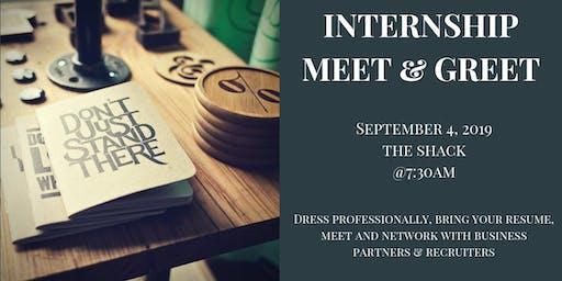 Business Internship Meet & Greet