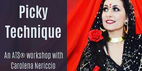 Picky Technique with Carolena Nericcio tickets
