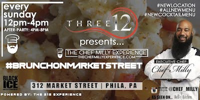 312 SPORTSLOUNGE PRESENTS #THECHEFMILLYEXPERIENCE BRUNCH ON MARKET STREET