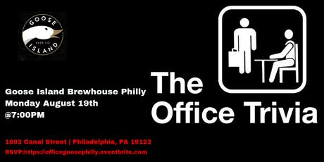 The Office Trivia at Goose Island Brewhouse Philly tickets