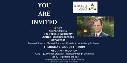 Leadership Academy Alumni Reengagement Breakfast