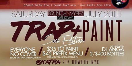 BRUNCH AND VYBEZ SATURDAYS tickets