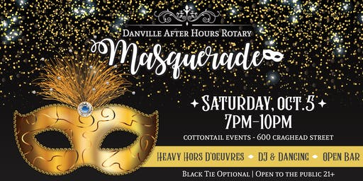 URW Credit Union Presents: Rotary After Hours Masquerade