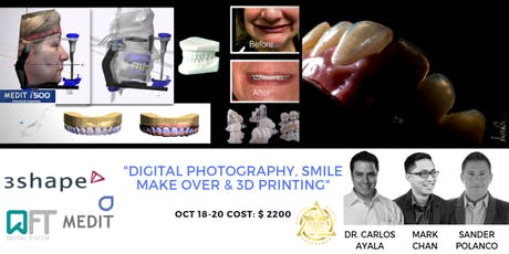 DIGITAL PHOTOGRAPHY, SMILE MAKE OVER & 3D PRINTING tickets