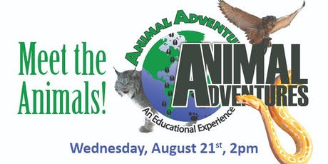 Animal Adventure Show: Meet the Animals tickets