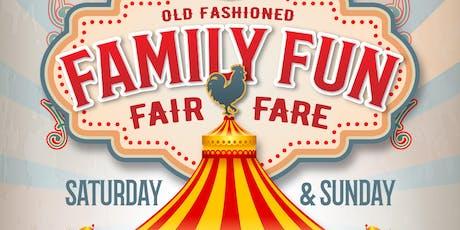 Old Fashioned Family Fun Fair - Fare tickets