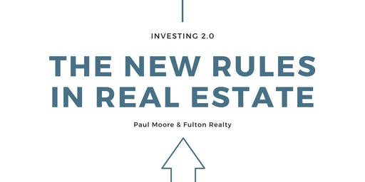The New Rules in Real Estate