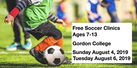 Free Soccer Clinics Ages 7-13 tickets
