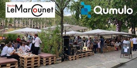 Soirée de lancement Qumulo France - Péniche Marcounet billets