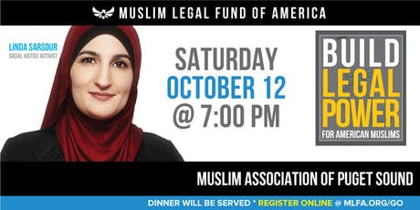 Build Legal Power for American Muslims with Linda Sarsour - Redmond, WA tickets