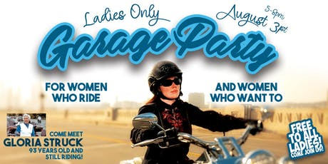 Ladies Only Garage Party tickets