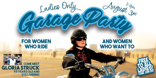 Ladies Only Garage Party
