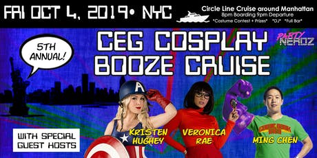 Cosplay Cruise [Blocks from Comic Con at the Jacob Javits Center] tickets