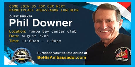 Marketplace Ambassador Lunch tickets