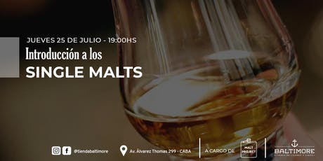 Introducción a los Single Malts entradas