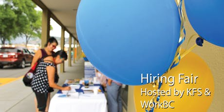 Hiring Fair hosted by WorkBC & Ki-Low-Na Friendship Society tickets