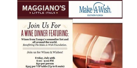 2nd Annual Wines & Wishes tickets