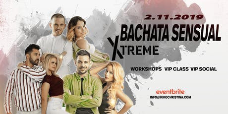 Bachata Sensual Xtreme by KC tickets