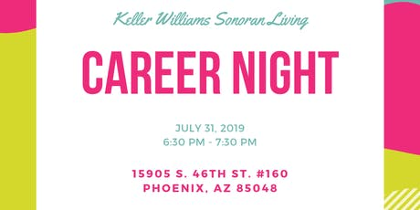 KW Career Night! tickets