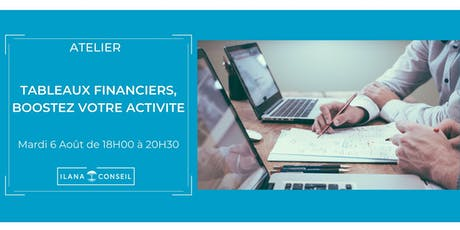 Atelier : Tableaux financiers, booster votre activité billets