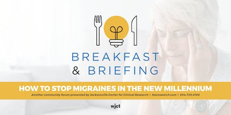 How To Stop Migraines In The New Millennium tickets