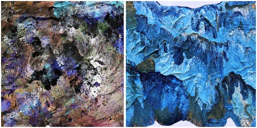 Art Reception: Of Earth and Space | Bianca Turner & Beth Bowen